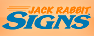 jack rabbit signs logo